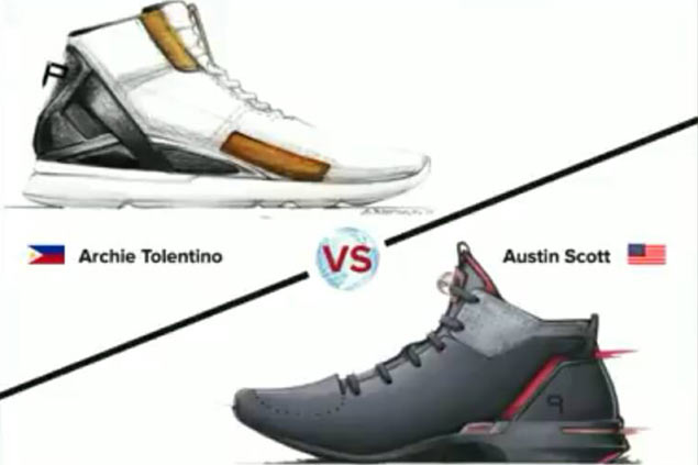 Lone Filipino entry in world sneaker design competition makes it to elite eight