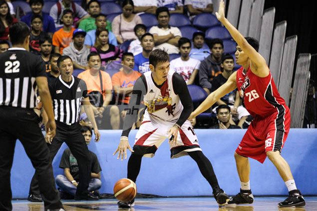 Before Fajardo, Samigue Eman was tipped to be the man for San Miguel Beermen