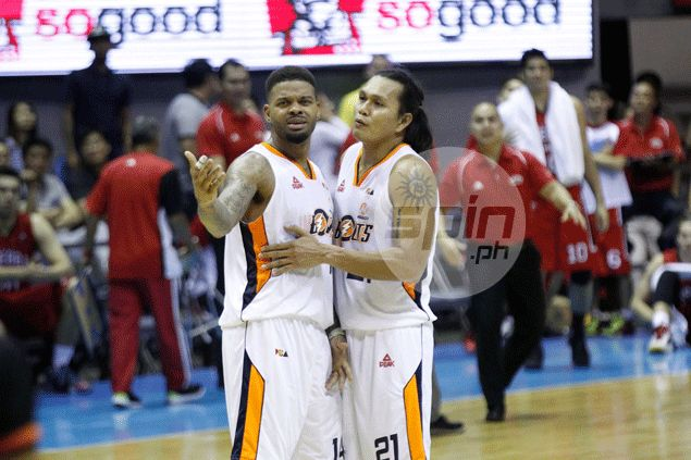 Andre Emmett says Meralco's win over Ginebra is 'whole lot of heart, whole lot of passion, and whole lot of teamwork'