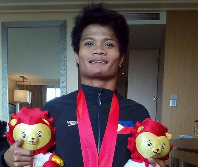 Davao para swimmer Ernie Gawilan wins Asean gold in record time, earns ticket to Rio