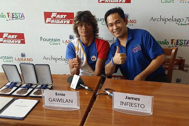 Legless pool wonder Ernie Gawilan won't let anything stand in the way of his Olympic dream