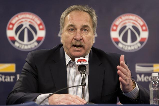 Wizards president Ernie Grunfeld laments inconsistent, wasted season under fired coach Randy Wittman