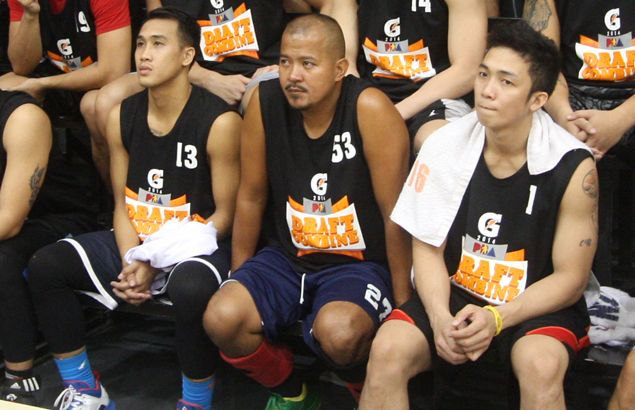 Draft applicant Erwin Estole, 32, insists it's never too late to reach for PBA dream