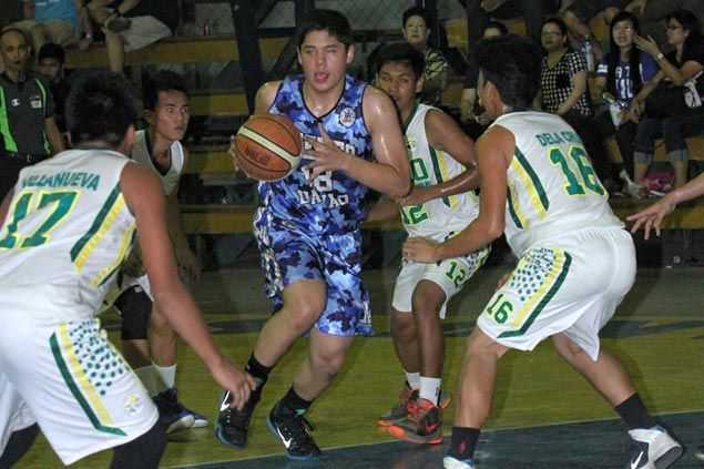 Francis Escandor lives up to billing as Ateneo de Davao cruises to victory in Gaisano Grand Cup