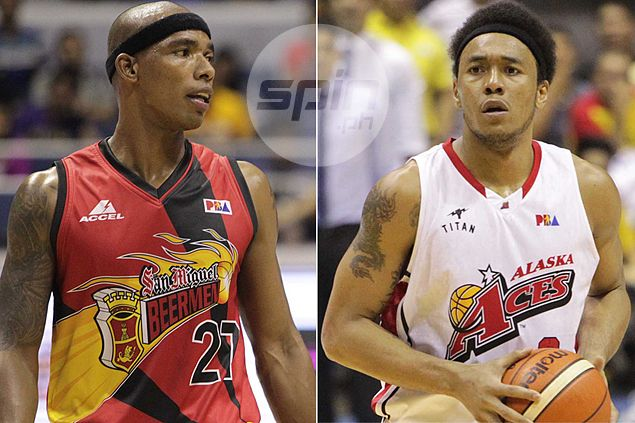 San Miguel bruiser Espinas fires warning shot against teammate turned rival Abueva