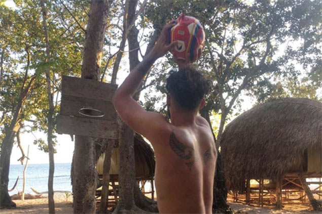 France's Evan Fournier vacations in Palawan, months before facing Gilas in Olympic qualifier