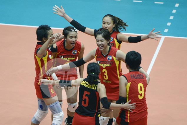 F2 Logistics turns back RC Cola Army in five-set thriller to stay perfect in PSL