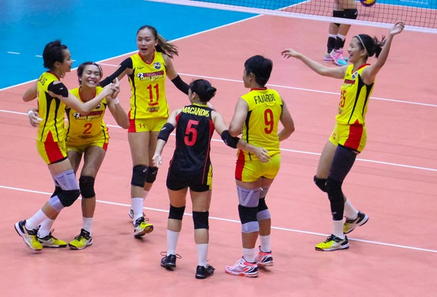 F2 Logistics keeps perfect PSL record after outlasting Petron in Lipa five-setter