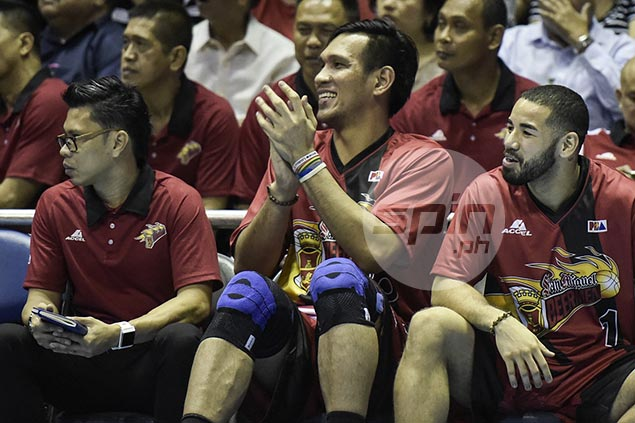 June Mar Fajardo confident San Miguel still very competitive even without him against Star