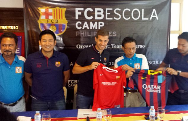 FC Barcelona coaches to conduct football training camp for kids in Cebu