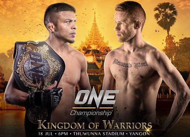 Elena Pashnina makes MMA debut against Jenny Huang; Bibiano Fernandes puts title on the line against Toni Tauru in One:Kingdom of Warriors