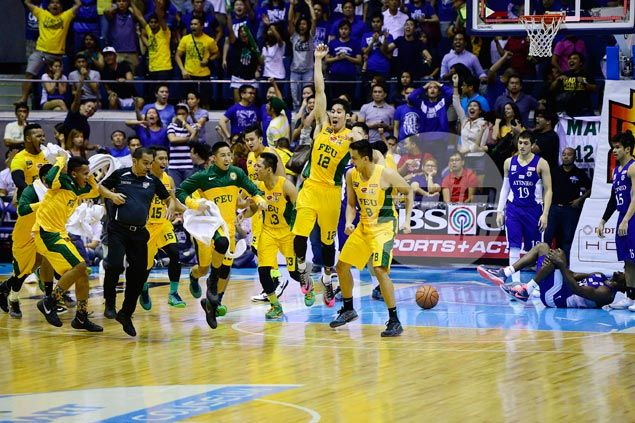 Mac Belo deflects credit, says Roger Pogoy stop on Wong layup the key to FEU victory