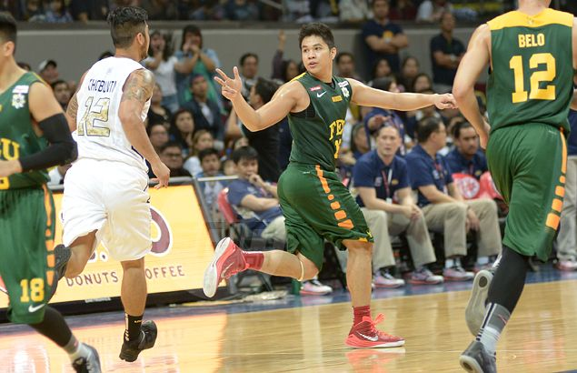 No star, no problem: Roger Pogoy steps up in a more team-oriented game for FEU Tamaraws