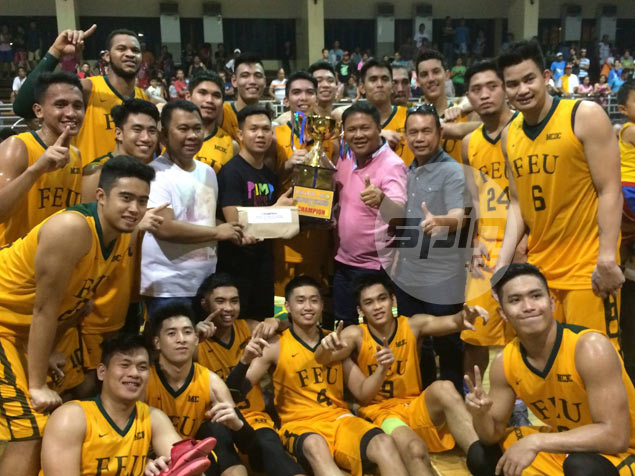 FEU Tamaraws find more reasons to celebrate by beating UV Lancers for Agusan title