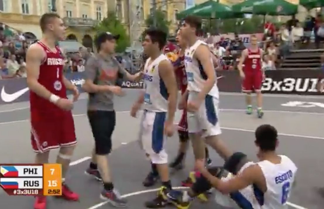 Kobe Paras & Team PH beat Kazakhstan but fall to Russia in Day 2 of FIBA 3X3 World tilt