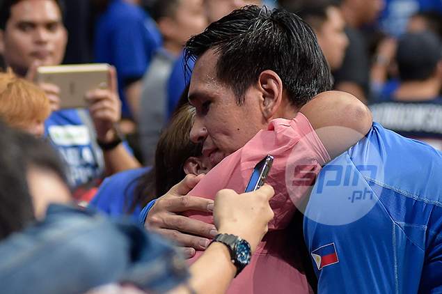 June Mar Fajardo says one of his biggest thrills was surprising mom with new car