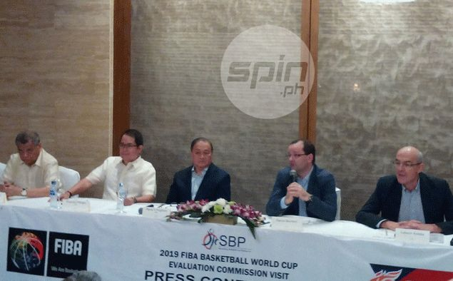 Impressed Fiba official says Philippines capable of hosting 2019 Basketball World Cup