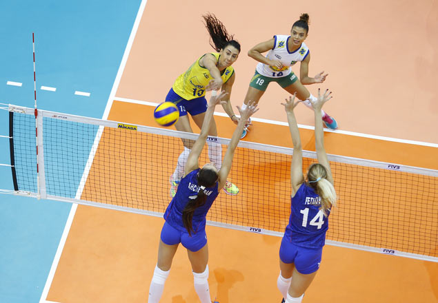 Brazil books slot to FIVB World Grand Prix semis with straight-sets win over Russia