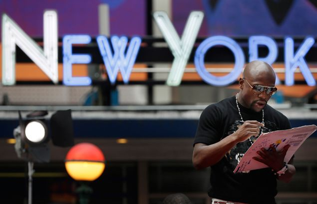 Floyd Sr. says a Mayweather loss to Manny Pacquiao will 'shock the hell out of me'