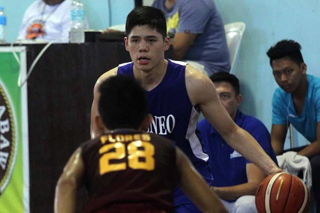 Escandor, Doromal star as Ateneo de Davao turns back Davao Jones Academy to gain share of lead