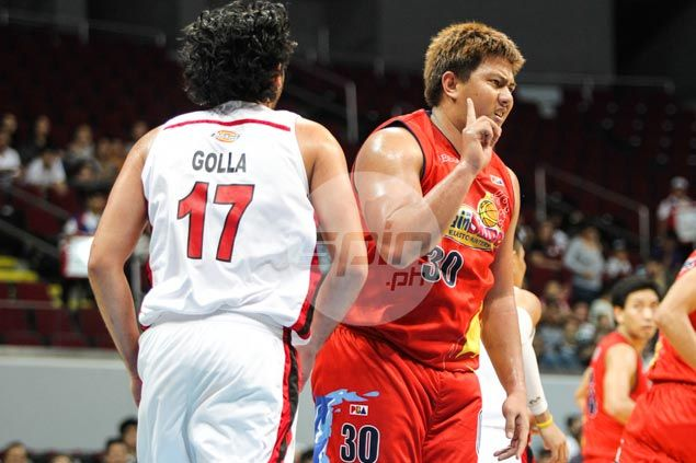 Sophomore Frank Golla mature enough not to fall for Beau Belga's on-court antics
