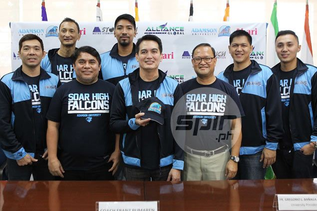 Franz Pumaren sets sights on UAAP championship as he takes over as Adamson coach