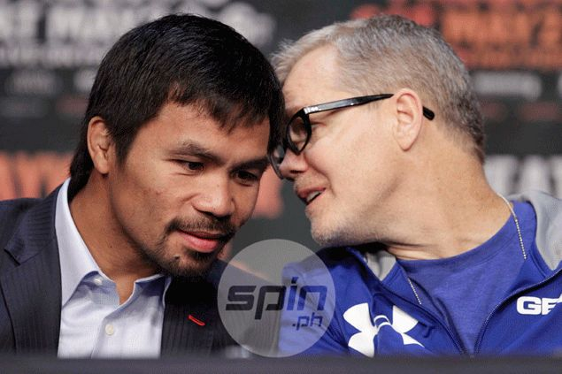 Eight years after DL Hoya loss, Freddie Roach gets another shot at Mayweather