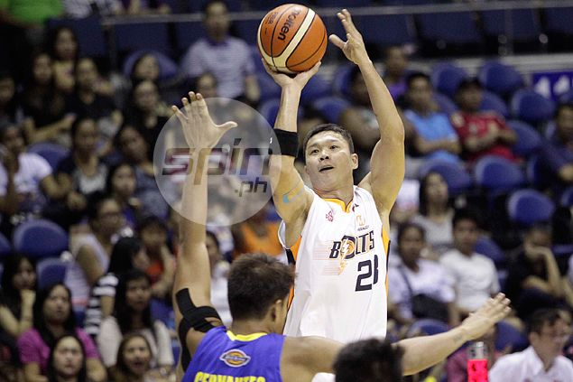 Meralco survives fright from Blackwater as Gary David rediscovers shooting touch