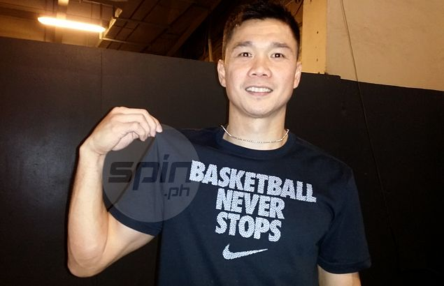 Gary David shows up in San Miguel Beer practice after free-agent transfer