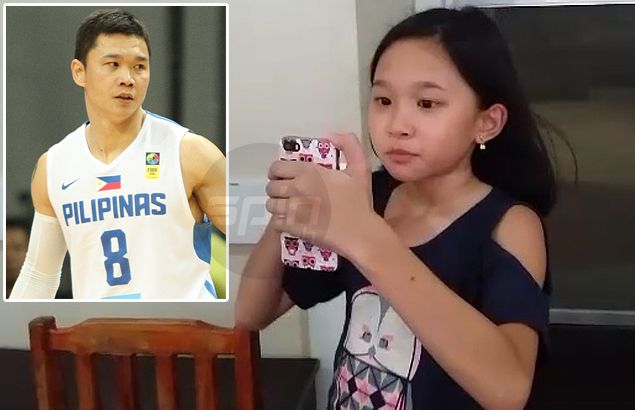 Gilas gunner Gary David makes daughter so proud after hitting his stride in India game
