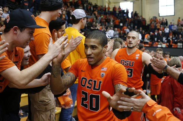 Gary Payton II hopes to follow his father's footsteps in leading Oregon State back to the NCAA Tournament
