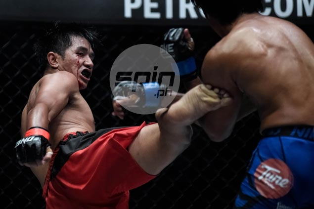 Geje Eustaquio eyes interim flyweight belt as rematch vs Akhmetov banners One Manila card