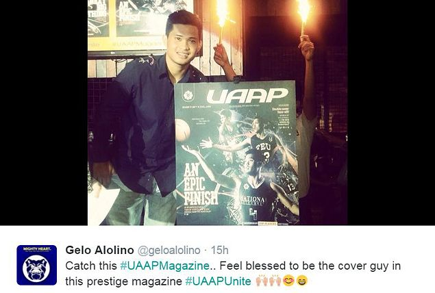 Bulldogs star Gelo Alolino over the moon as he graces magazine cover