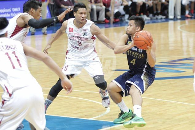 Gelo Alolino finds touch as resurgent NU Bulldogs extend UP Maroons' slump