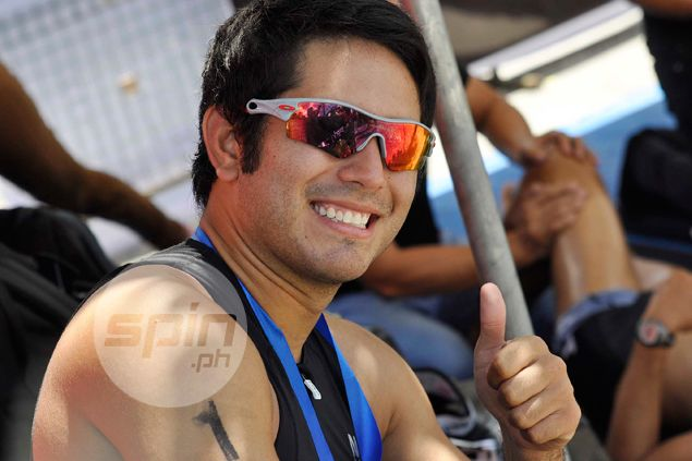 Actor Gerald Anderson had one regret after his first ever triathlon