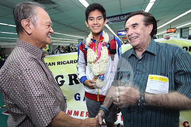 Youth Olympics gold medalist Gab Moreno mourns death of doting grandfather Kuya Germs