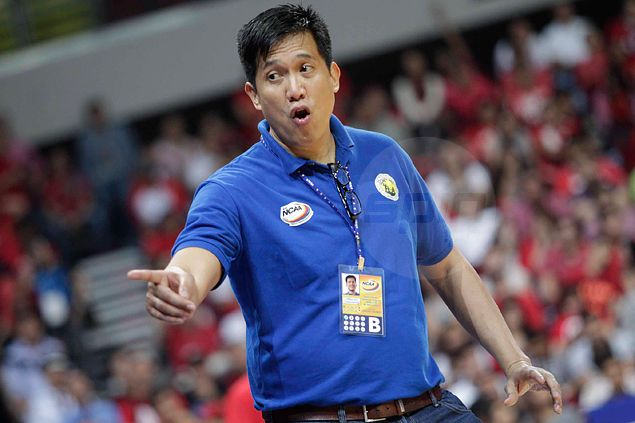 Arellano Chiefs shouldn't be content just being in the finals, says coach Codinera