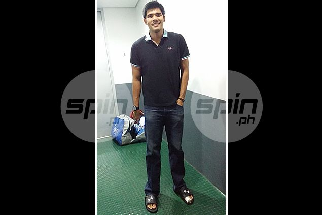 Jervy Cruz didn't know what was more terrifying: breaking a toe or breaking the bad news to Guiao