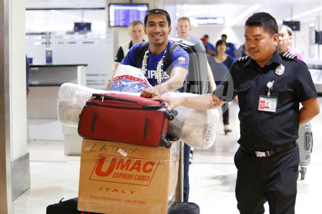 LA Tenorio was all smile despite being one of the two final cuts in Gilas' 12-man roster