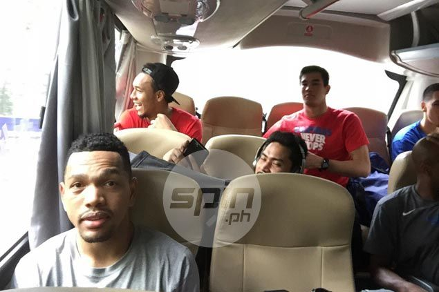 Gilas players stick to 'bus superstition' as they ride wave of good form