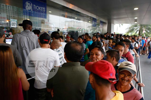 Scalpers lurk around MOA Arena as demand for Gilas-France tickets spike