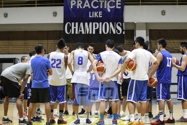 Tab Baldwin shrugs off 'injury bug' as Gilas left with seven healthy players in practice