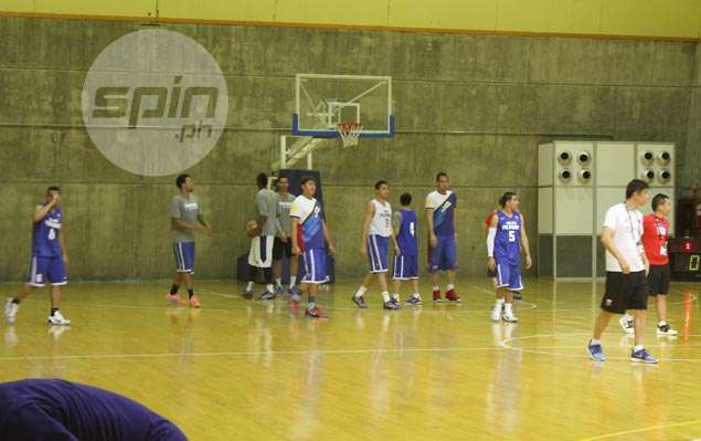 Pressed for time, Gilas defies heavy rain, floods for one practice prior to departure for Asiad