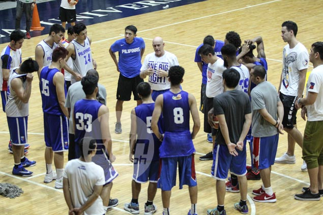 Gilas progressing at slow pace, but Baldwin prefers to look at glass as half-full