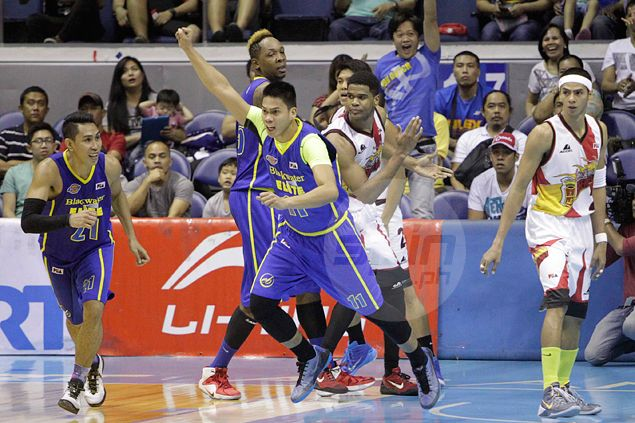 Blackwater wins first-ever PBA game as champ San Miguel Beer dealt another black eye