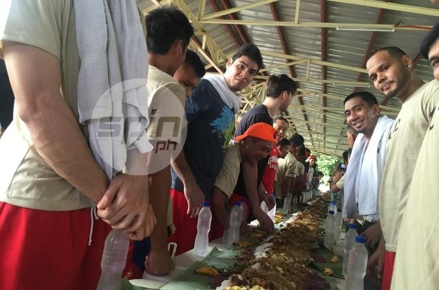 Ginebra grants soldier's wish, plays exhibition game with AFP elite forces
