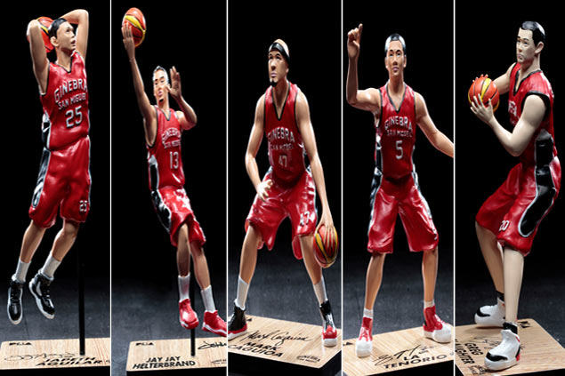 Ginebra Gin Kings launch first ever limited edition PBA collectible figures