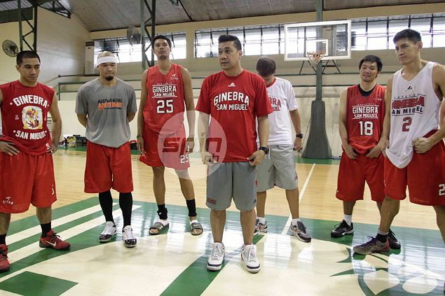Ginebra's vaunted run-and-gun style gets early test from Meralco on PBA opening night