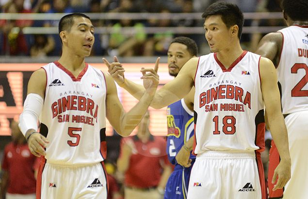 Don't count 'unpredictable' Ginebra out against twice-to-beat Rain or Shine, says Joseph Yeo