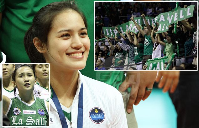 Ex-La Salle stars Michele Gumabao, Melissa Gohing feeling blue over 'lack of support' for Lady Spikers